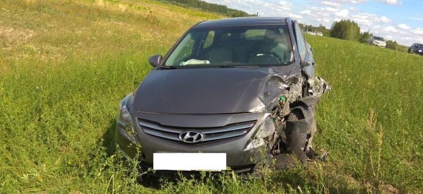 В Судиславском районе в результате ДТП пострадал 33-летний мужчина