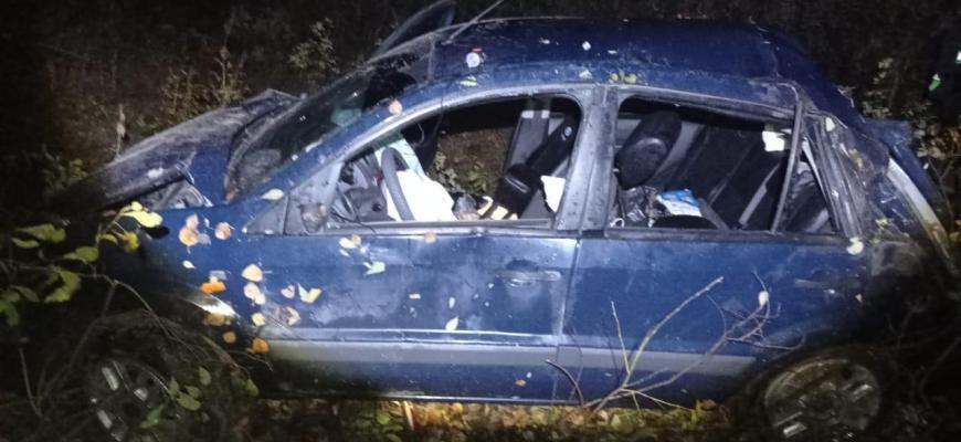 В Судиславском районе два человека пострадали в ДТП