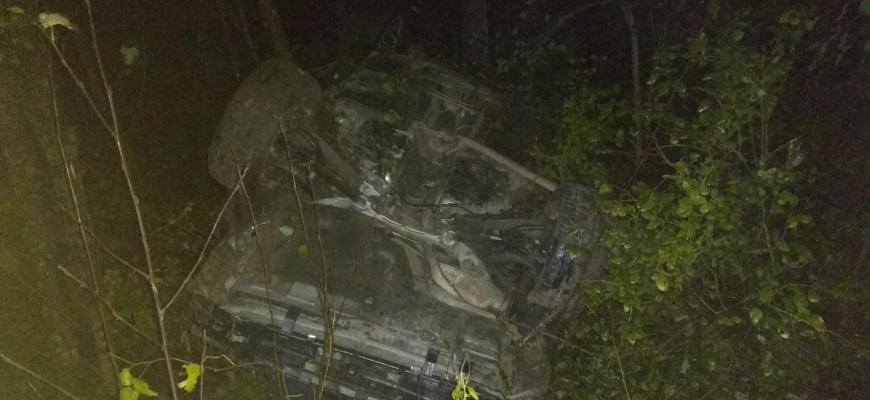 В Судиславском районе 18-летний водитель пострадал в ДТП