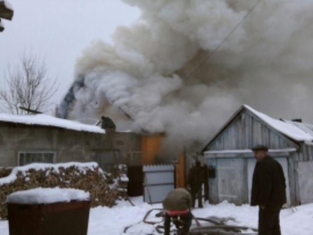 Подробности пожара на улице Советской в поселке Судиславль