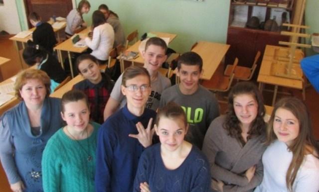 В Судиславской средней школе прошло мероприятие к Дню молодого избирателя