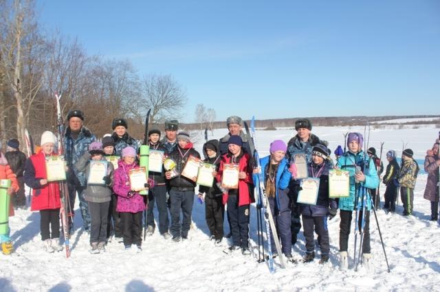 Сотрудники отдела охраны КПБСТИН УФСИН по Костромской области организовали лыжный пробег для детей Судиславского района