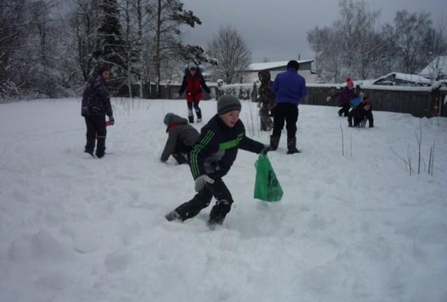 В Глебовской школе прошла военно-спортивная игра «Зарница»