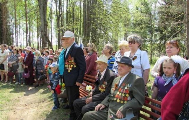 В Судиславле отметили 71–ю годовщину Победы в Великой Отечественной войне