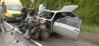 Устанавливаются обстоятельства крупного ДТП на трассе «Кострома — Судиславль».