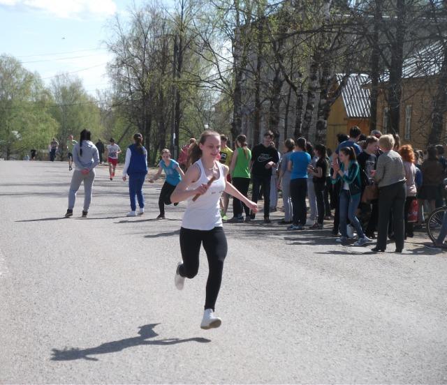 В Судиславле дан старт легкоатлетической эстафете, посвященной годовщине великой победы