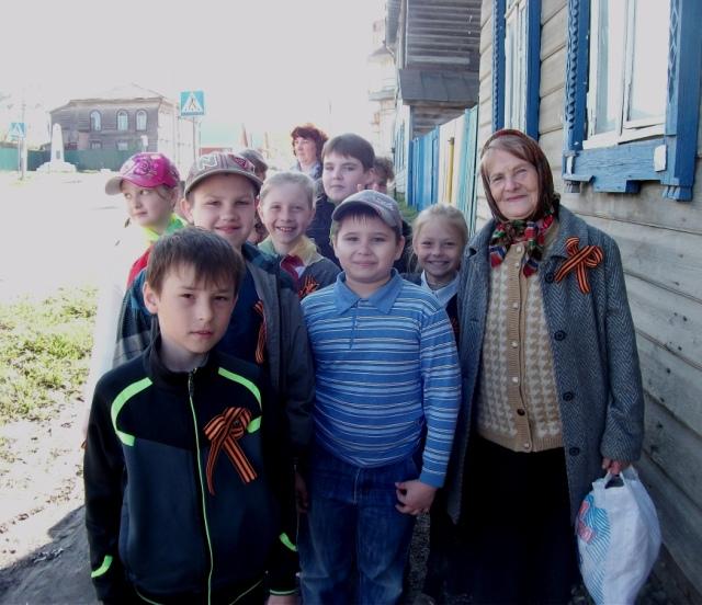 В Судиславском районе стартовала акция «Георгиевская ленточка»
