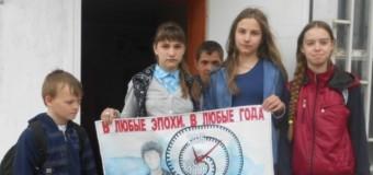 Акция к единому дню голосования прошла в Судиславле.