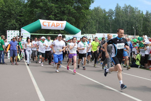 В Воронеже состоялся пятый «Зеленый марафон»