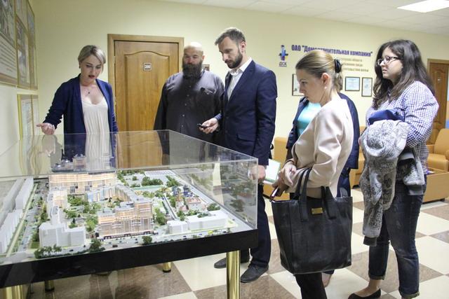 В Центрально-Черноземном банке ПАО Сбербанк проводится серия пресс-туров по новостройкам