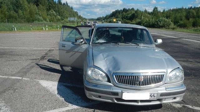 В Судиславском районе легковушка сбила женщину