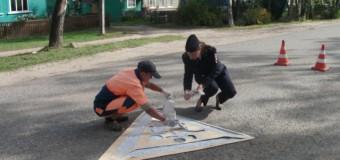Судиславские Госавтоинспекторы и специалисты дорожно-эксплуатационного предприятия выступили за безопасность  детей-пешеходов