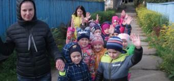 Госавтоинспекторы Судиславля организовали для воспитанников МДОУ ДС «Березка» дорожную экскурсию «Светящийся маршрут безопасности».