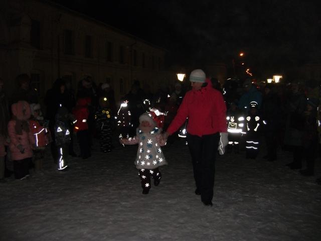 В Судиславле состоялся «Светящийся карнавал»