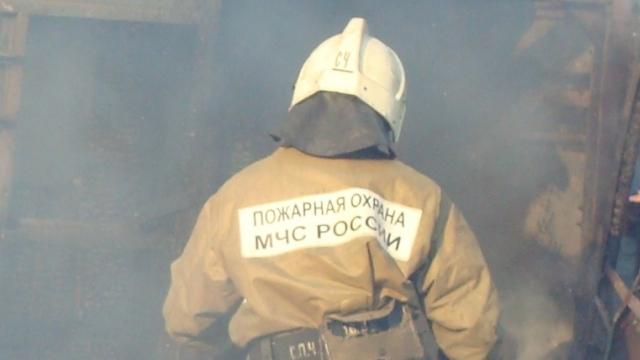Огнеборцы выехали на пожар в Судиславском районе