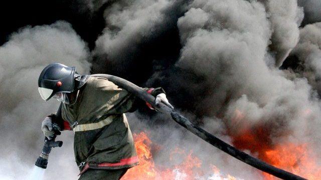Сегодня в Судиславском районе сгорел магазин