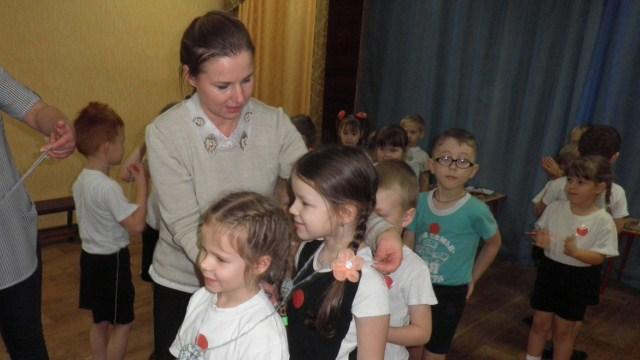 В детском саду «Берёзка» в старшей группе совместно родителями прошёл семейный спортивный конкурс по правилам дорожного движения «Мы пешеходы»