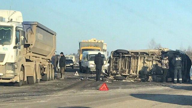 Крупное ДТП произошло в Судиславском районе, есть пострадавший