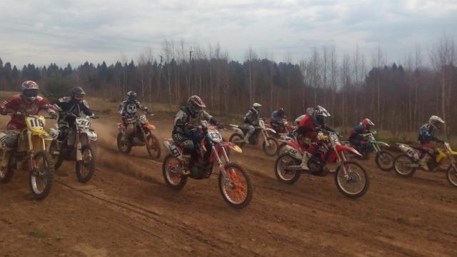 В Судиславском районе прошли соревнования по мотокроссу