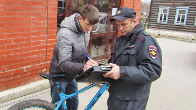 Жители Судиславского района поддержали акцию регионального УМВД «Зарегистрируй свой велосипед»
