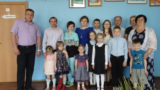 В Международный день семьи в администрации Судиславского района прошло чествование многодетных семей