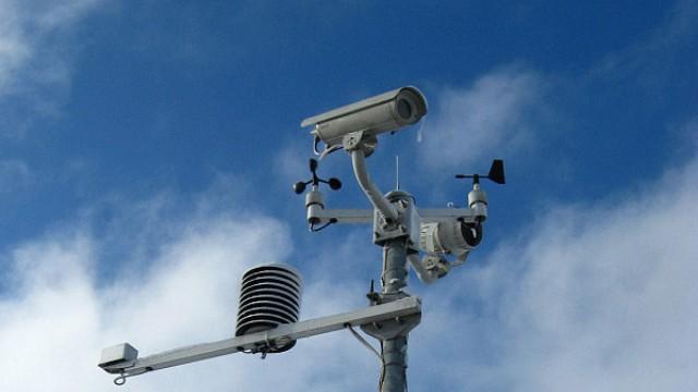 В Судиславском районе появилась станция метео и видеоконтроля