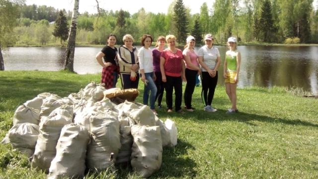 Озеро Юбилейное и Комсомольское в Судиславле стало намного чище