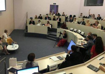 Лекцию в Сколково прочитала гендиректор ИНК Марина Седых