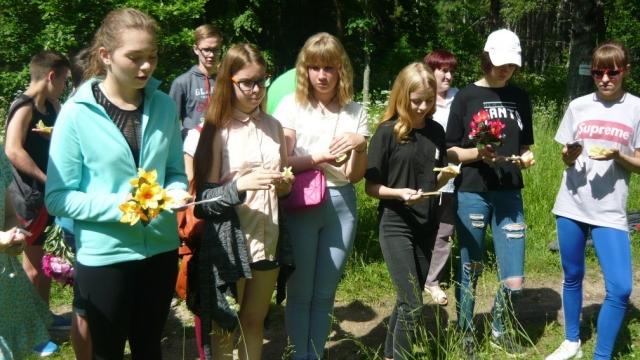 Акция «Свеча памяти» прошла в Судиславле