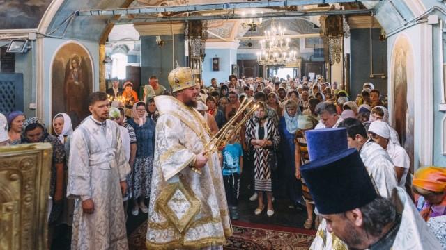 В Преображенском храме Судиславля состоялся престольный праздник