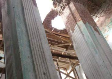 В Судиславле продолжается ремонт церкви Успения Пресвятой Богородицы