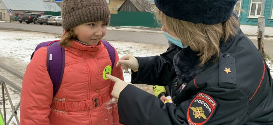 В Судиславле прошла акция «Держи меня за руку»