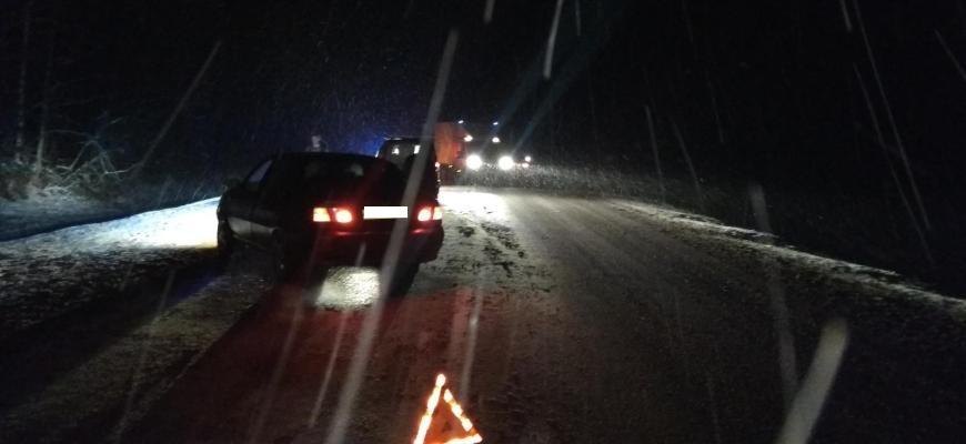 Под Судиславлем в результате ДТП с пьяным водителем чудом не пострадали двое детей