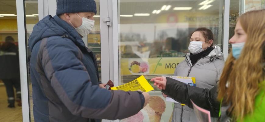В Судиславле ЮИДовцы совместно с сотрудниками Госавтоинспекции провели акцию «Цена ошибки - жизнь людей»