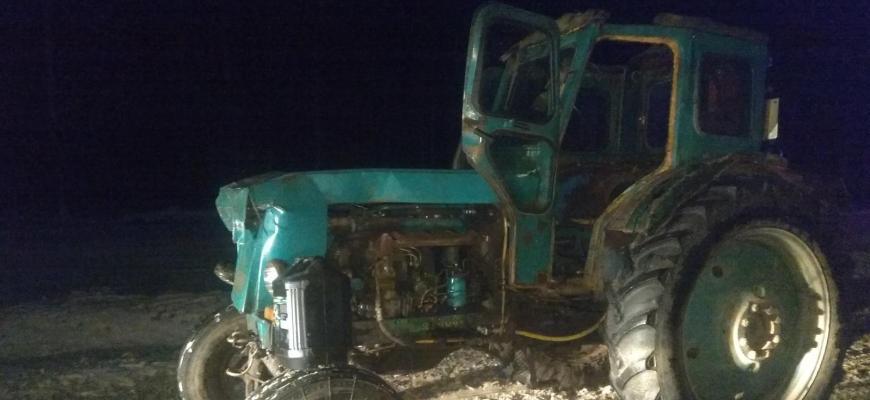 Под Судиславлем столкнулись Kia Rio и трактор Т-40, пострадал один человек